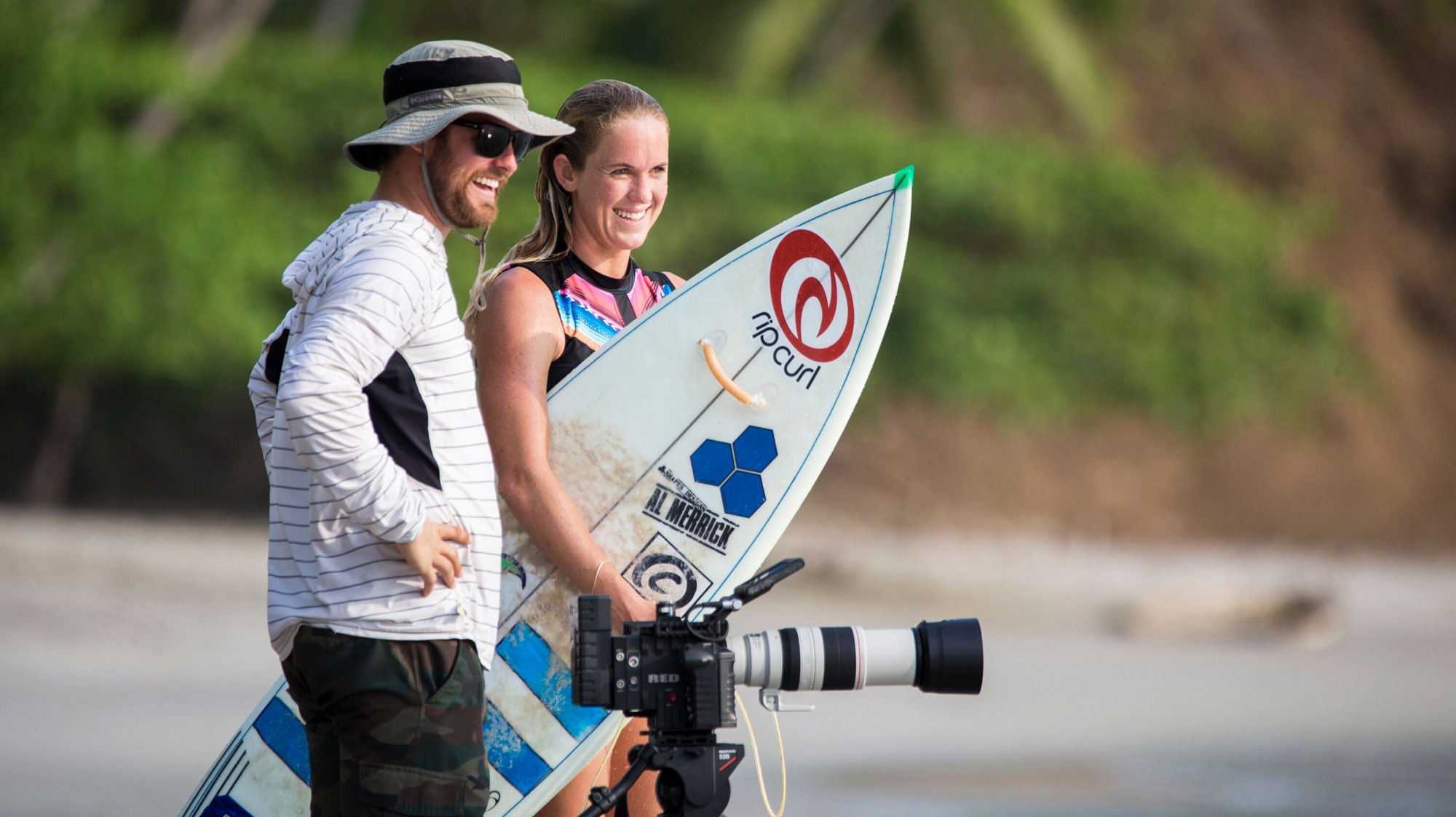 Behind The Scenes Of Bethany Hamilton S New Film Unstoppable Men S Journal