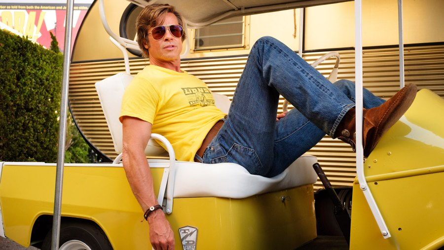 "Brad Pitt in ""Once Upon a Time ... in Hollywood"""