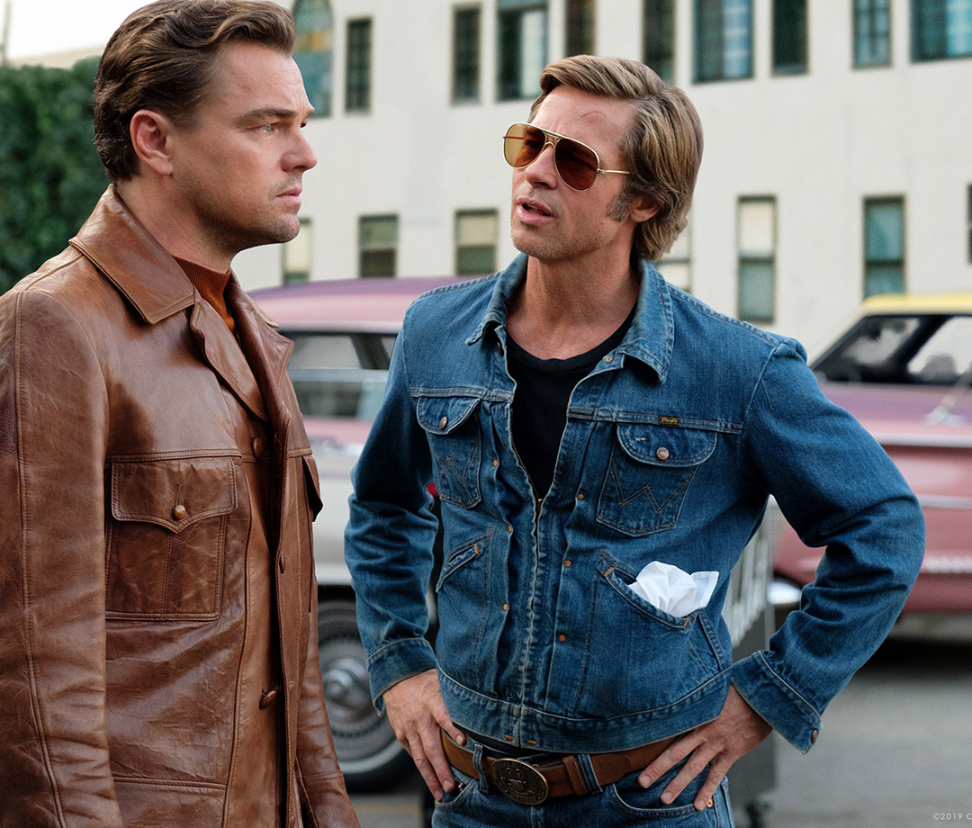 """Leonardo DiCaprio and Brad Pitt in """"Once Upon a Time ... in Hollywood"""""""