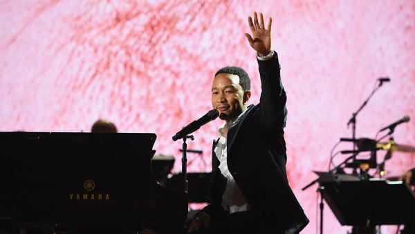 LOS ANGELES, CA - FEBRUARY 12: John Legend performs onstage during Motown 60: A GRAMMY Celebration at Microsoft Theater on February 12, 2019 in Los Angeles, California. (Photo by Kevin Mazur/Getty Images for The Recording Academy)