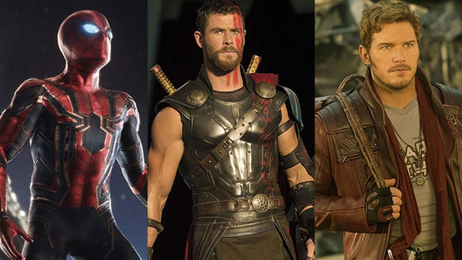 MCU Phase 4 - Thor, Spider-Man, Star-Lord
