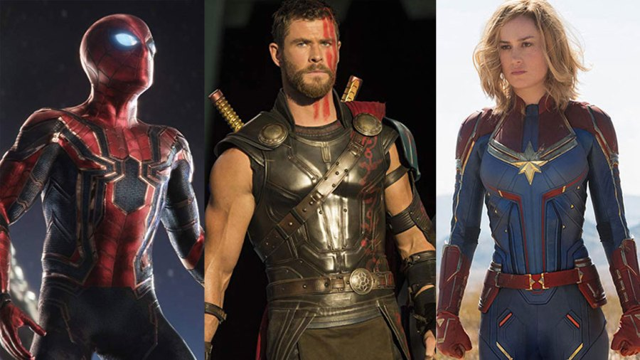 MCU Phase 4 - Thor, Spider-Man, Captain Marvel