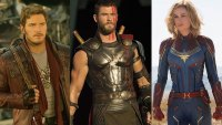 MCU Phase 4 - Star-Lord, Thor, Captain Marvel