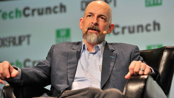 SAN FRANCISCO, CA - SEPTEMBER 13: Author Neal Stephenson speaks onstage during TechCrunch Disrupt SF 2016 at Pier 48 on September 13, 2016 in San Francisco, California. (Photo by Steve Jennings/Getty Images for TechCrunch)