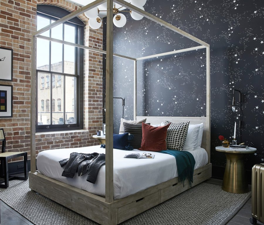 A room at Domio Baronne St. in New Orleans, LA