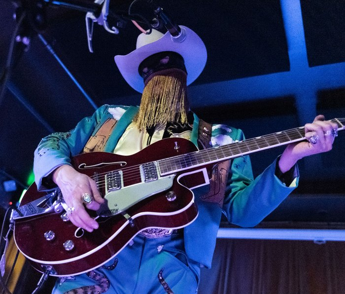 Orville Peck performs live on stage at Barboza on May 18, 2019 in Seattle, Washington.