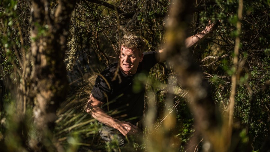 """Gordon Ramsay in his new Nat Geo show, """"Uncharted"""""""