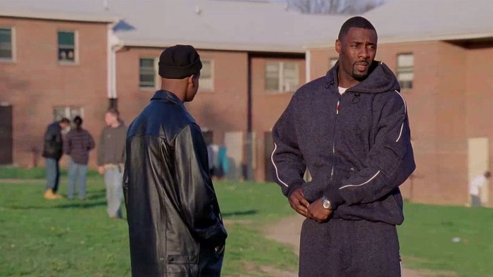 Idris Elba as Stringer Bell in The Wire