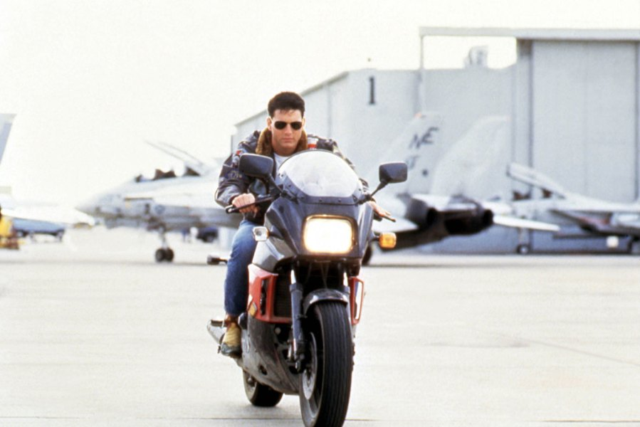 Film and Television Top Gun, Tom Cruise 1986