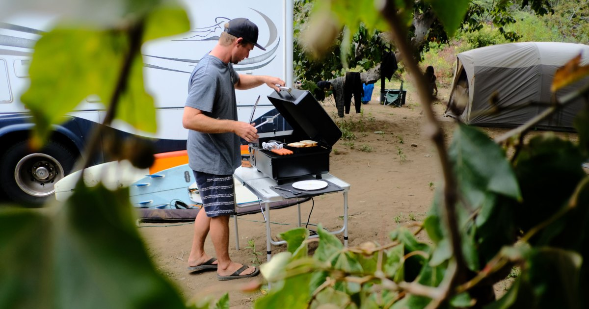The Portable Traeger Ranger Takes Camp Cooking to the Next Level