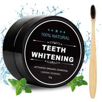 Activated Charcoal Natural Teeth Whitener Teeth Whitening Charcoal Powder