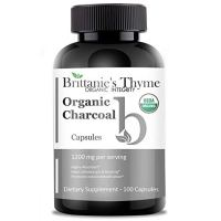 Brittanie's Thyme Certified Organic Activated Charcoal Capsules