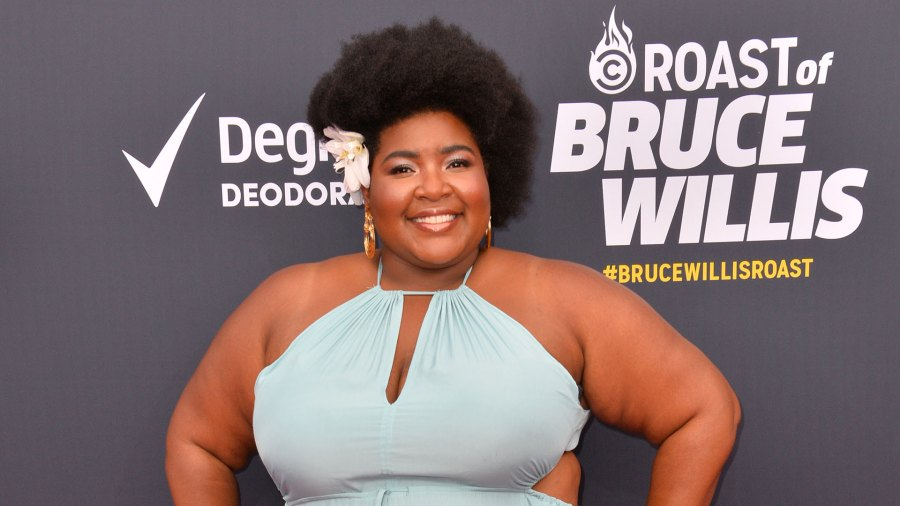 "Dulce Sloan at the Comedy Central ""Roast of Bruce Willis"" in 2018"