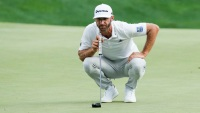 dustin johnson bad shot