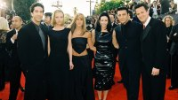 'Friends' cast at 5th Annual Screen Actors Guild Awards in 1999