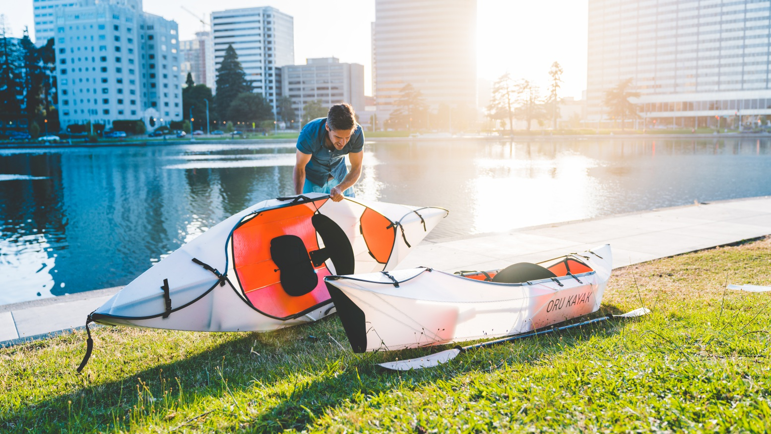 The Inlet Is Oru's Lightest and Most Affordable Folding Kayak Yet
