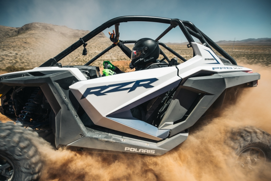 Polaris RZR ProXP white