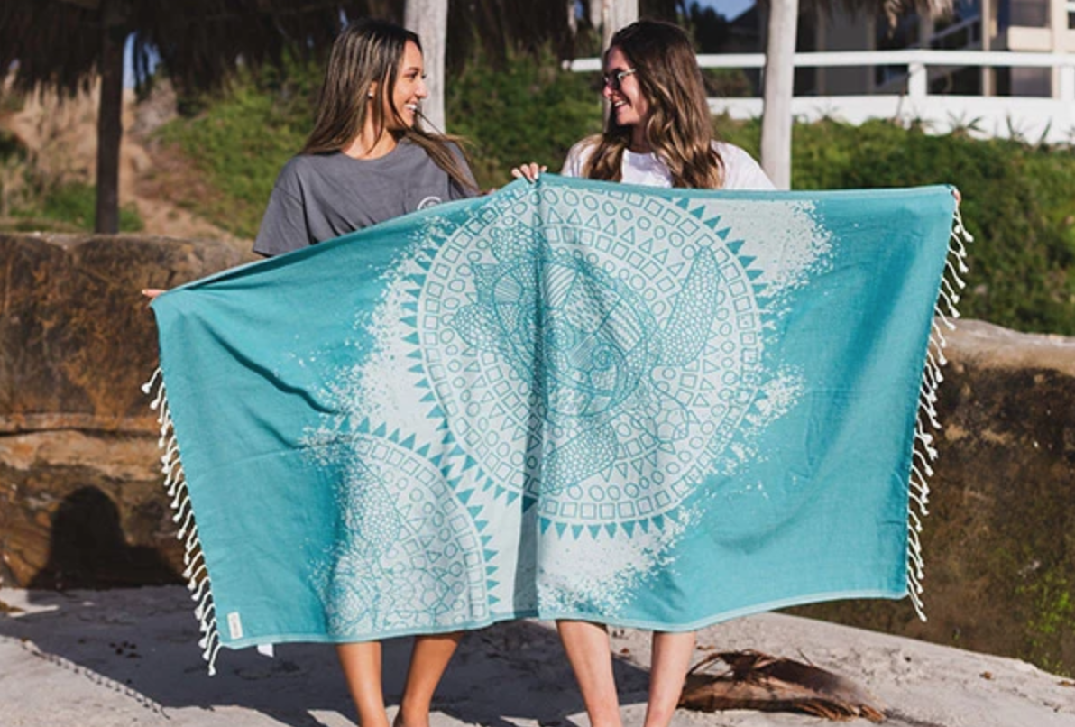 Sand Cloud Sea Foam Towel