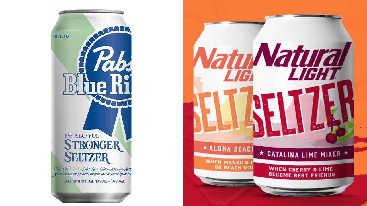 PBR and Natural Light Join the Fizzy Drink Craze With Their Own Hard Seltzers