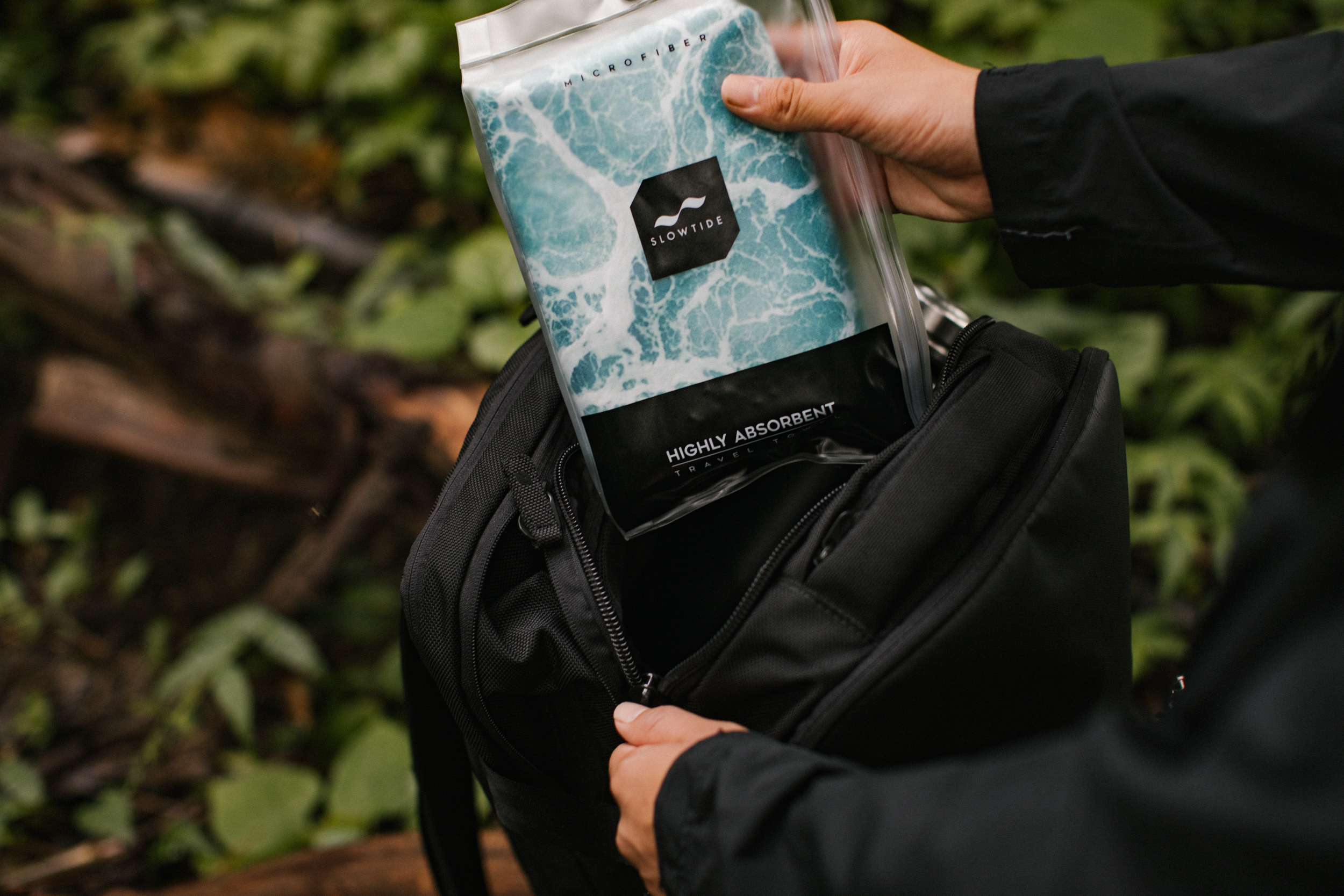 Slowtide Travel Towel