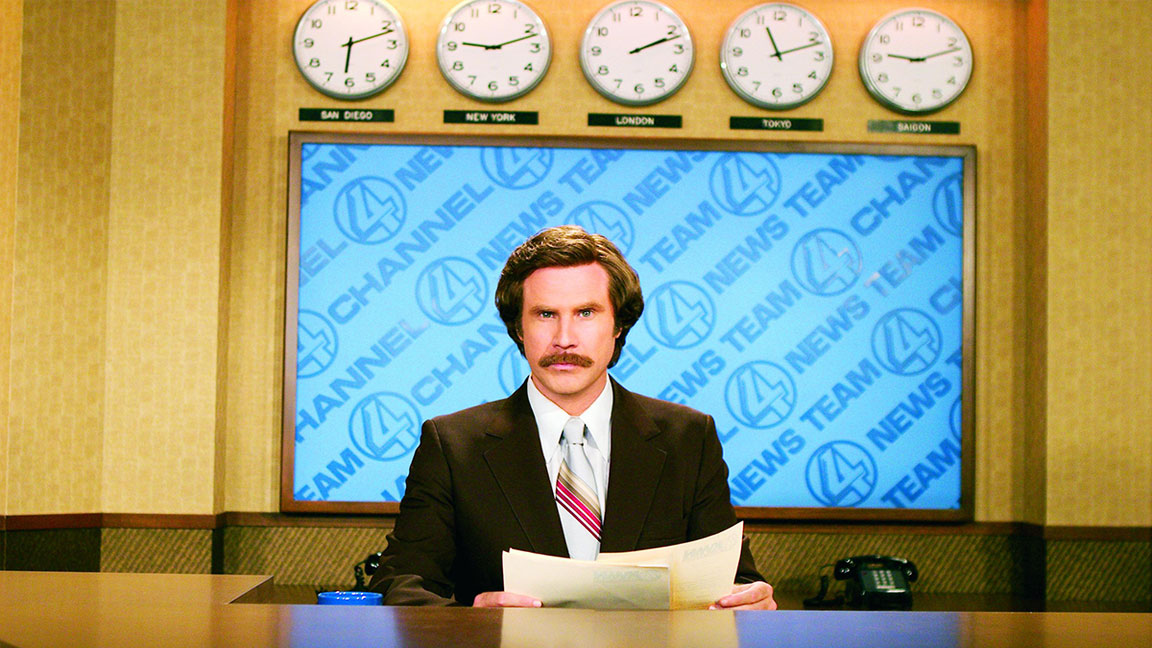 Here's What You Need to Know About Will Ferrell's Ron Burgundy Podcast