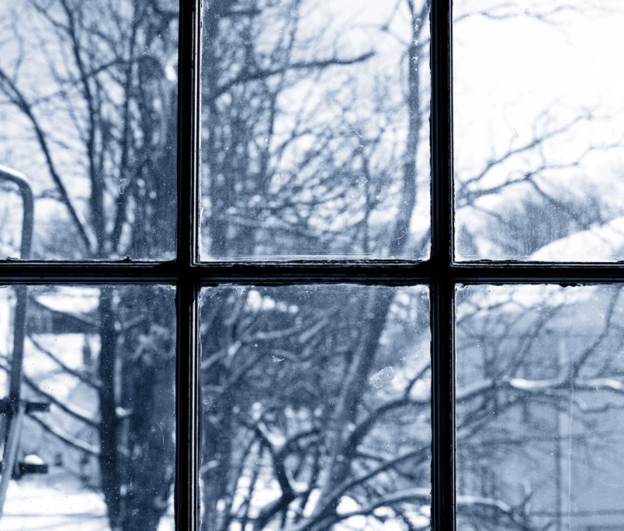In the winter, keep your curtains open during the daytime to let in as much sunlight as possible and utilize the free heat source