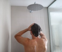 The average American family uses approximately 40 gallons of water per day in the shower alone