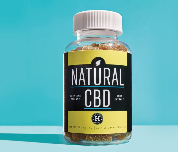 CBD products require labels showing that they're compliant with Hemp Authority guidelines