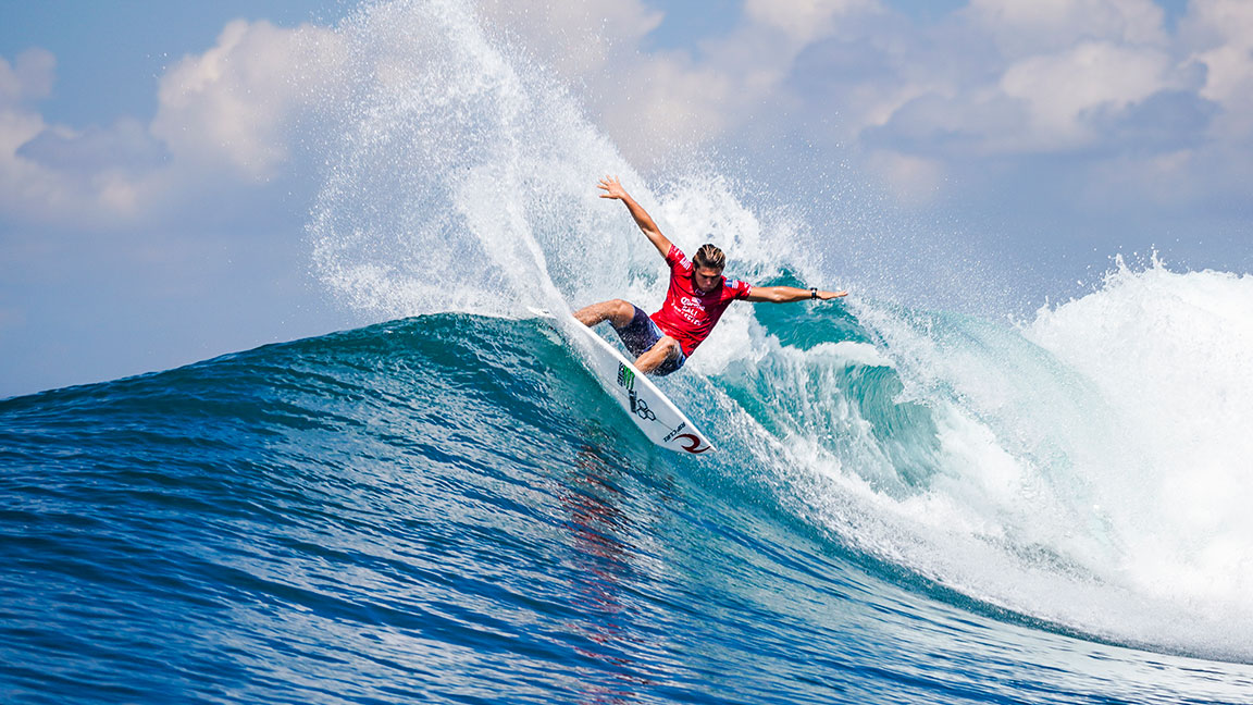 Surfer Conner Coffin on Training for the 2020 Summer Olympics, Top Surf Spots, and His Favorite Board