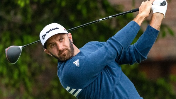 Dustin Johnson at the 2019 RBC Canadian Open in Hamilton, Ontario