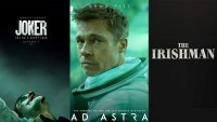 Ad Astra, Joker, Irishman Posters / Warner Bros., Fox Searchlight, Netflix