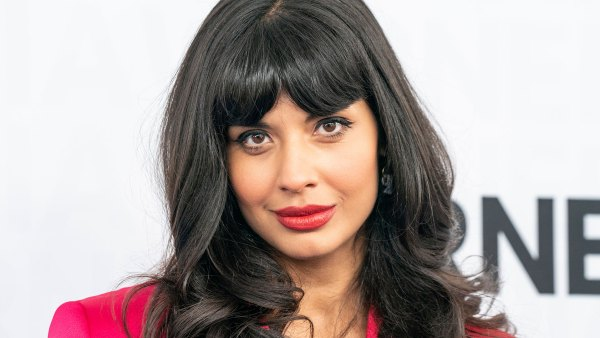 Jameela Jamil attends WarnerMedia Upfront 2019 arrivals outside of The Theater at Madison Square Garden