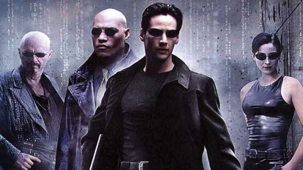 Matrix 4- The Matrix - 1999 Joe Pantoliano, Laurence Fishburne, Keanu Reeves, Carrie-Anne Moss