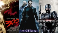 300, The Matrix, Robocop / Warner Bros. / Orion Pictures