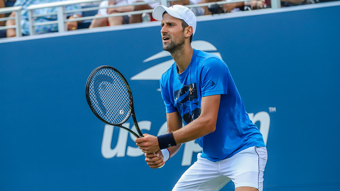 Novak Djokovic Talks the 2019 U.S. Open, How He Trains, and Partnering With Montblanc