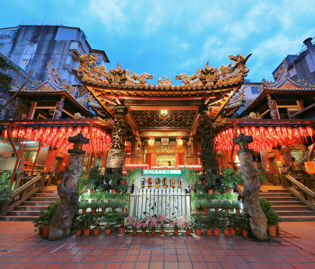 Taipei Tianhou Temple is one of the oldest temple in Ximending, Taipei