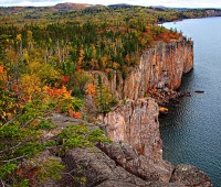 Palisade Head in Tettegouche State Park in Beaver Bay, MN