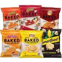 Frito-Lay Baked & Popped Mix Variety Pack,40 Count
