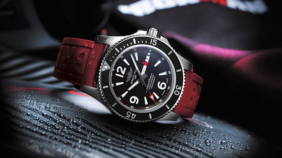 The New Breitling Superocean IRONMAN Watch Is Triathlete Tough
