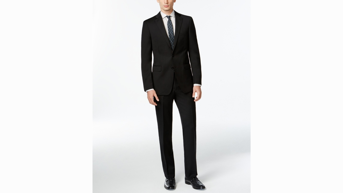 The New Power Suit—This Calvin Klein Slim X Fit Suit Is 75% Off