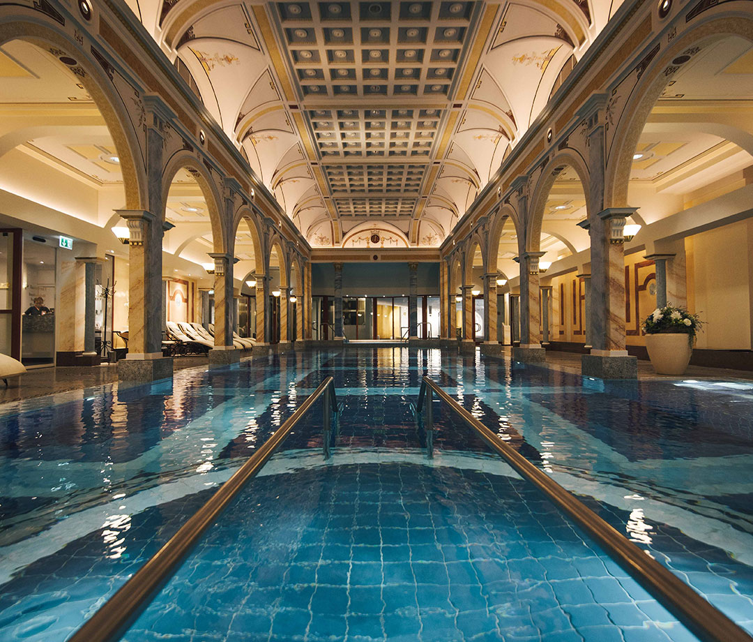 Helena Pool at Grand Resort Bad Ragaz