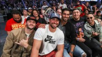 San Francisco 49ers attend WWESmackDown