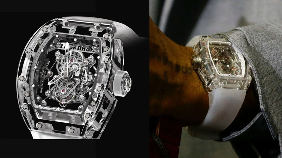 Odell Beckham's Watch / Richard Mille, Browns Jets Football, East Rutherford, USA - 17 Sep 2019 Cleveland Browns' Odell Beckham speaks after an NFL football game against the New York Jets, in East Rutherford, N.J. The Browns won 23-3