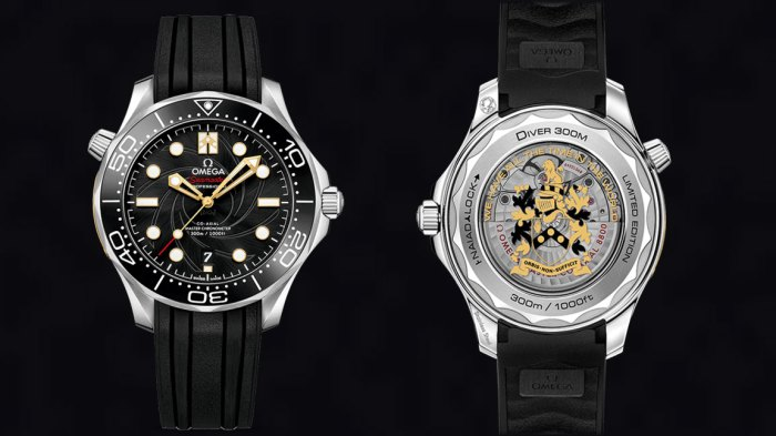 James Bond watch / a Seamaster Diver 300M Limited Edition