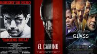 Glass / Breaking Bad Movie / Raging Bull / Universal Pictures / Sony / Netflix / United Artists