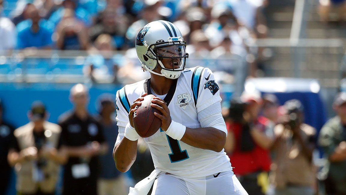 Watch: NFL Star Cam Newton Sets a Bunch of Wild Guinness Book of World Records