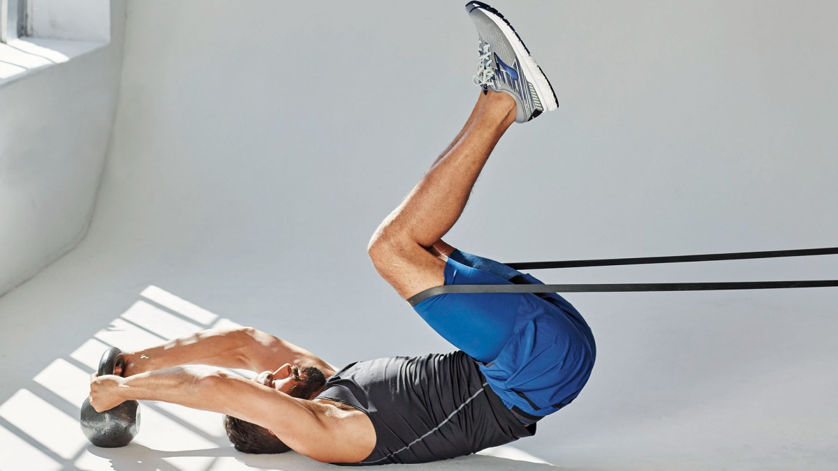 The Reverse Banded Crunch Is the Best Core Move You Haven't Tried Yet