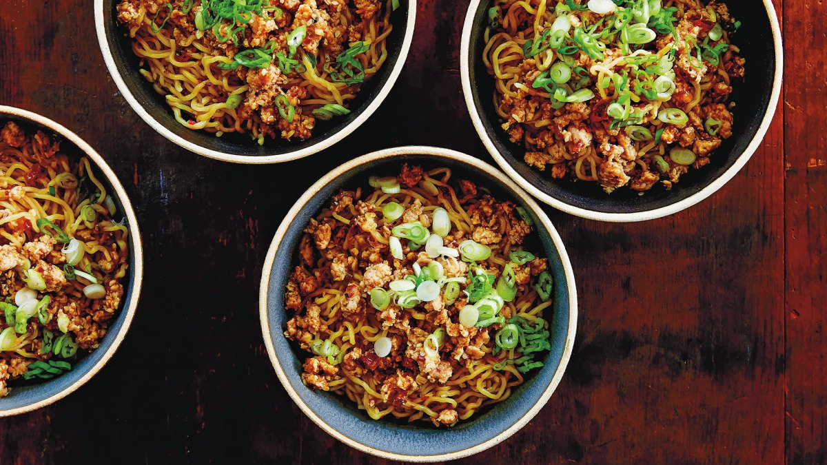 Recipe How To Make Spicy Sichuan Dan Dan Noodles With Chicken