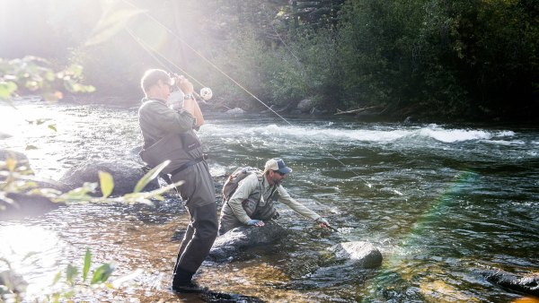 Fly-fishing in Colorado