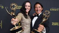 71st Annual Primetime Creative Arts Emmy Awards, Day 1, Press Room, Microsoft Theater, Los Angeles, USA - 14 Sep 2019 Elizabeth Chai Vasarhelyi and Jimmy Chin